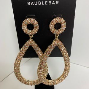 BaubleBar Pink Gemstone Earrings